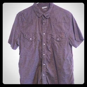 Arizona - black button-down